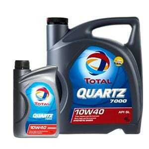 روغن موتور توتال 7000 Quartz وارداتی اصل (10W40)